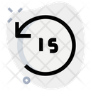 Timer Fifteen Second Camera Timer Timer Icon