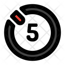 Timer Five Icon