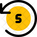 Timer Five Second Icon