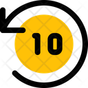 Timer Ten Second Icon