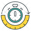 Timestamp Stopwatch Time Icon