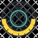 Timestamp Clock Event Icon
