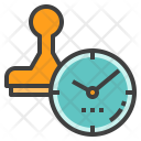 Timestamp Date Datestamp Icon