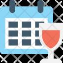Calendar Timetable Schedule Icon