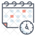 Timetable Schedule Event Planner Icon