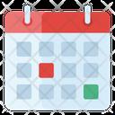 Calendar Date Daybook Icon