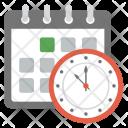 Schedule Planning Event Icon
