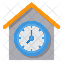 Time Working At Home Employee Icon
