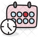 Timetable Schedule Planner Icon
