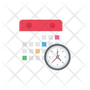 Timetable Schedule Calendar Icon