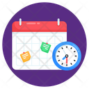 Planner Event Timetable Icon