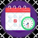 Schedule Agenda Timetable Icon
