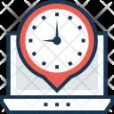 Timezone Stopwatch Countdown Icon