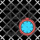 Timing Diagram Icon