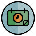 Date Timing Calendar Icon