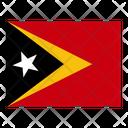 Timor Leste Flag Flags Icon