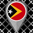 Timor Leste Country Location Location Icon