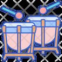 Timpani Drum Drum Stick Icon