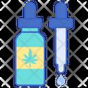 Tincture Cannabinoid Cannabis Icon