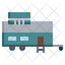 Tiny House Mobile House Real Estate Icon