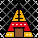 Tipi Tent Dinner Icon