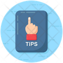 Hand Gesture Tips Educational Tips Icon