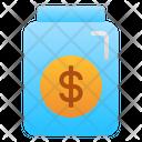 Tips Money Bottle Icon