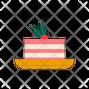 Tiramisu Cake Dessert Icon