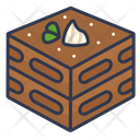 Dessert Tiramisu Cake Icon