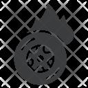 Tire Tyre Burnout Icon