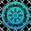 Wheel Tyre Car Icon