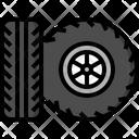 Tire Wheel Car Service Icon