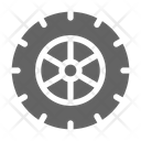 Tire Car Wheel Icon