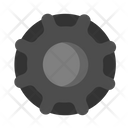 Tire Tool Building Icon
