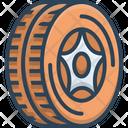 Tire Wheel Automobile Icon