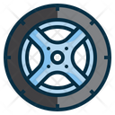 Wheel Tire Rims Icon