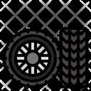 Tire Wheel Vehicle Icon