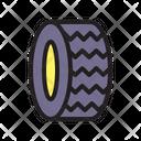 Tire Wheel Car Icon