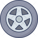 Tire Car Wheel Tyre Icon