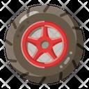 Tire Auto Wheel Icon