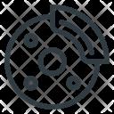 Tire Break Disk Icon