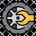 Tire Wheel Tyre Icon