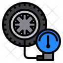 Car Service Tire Icon