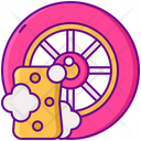 Tire Cleaning Icon