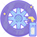 Itire Dressing Tire Dressing Tire Polish Icon