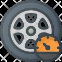 Tire Pressure Pump Icon