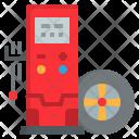 Mobile Automotive Maintenance Icon