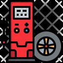 Tire pressure checker Icon