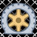 Tire puncture Icon