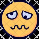 Tired Emoji Emot Icon